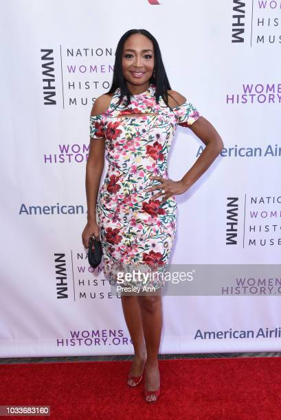 Malina Moye attends National Women's History Museum's 7th Annual Women Making History Awards at The Beverly Hilton Hotel on September 15 2018 in...