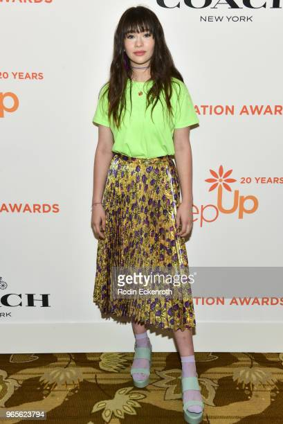 Malina Weissman attends Step Up's 14th Annual Inspiration Awards at the Beverly Wilshire Four Seasons Hotel on June 1 2018 in Beverly Hills California
