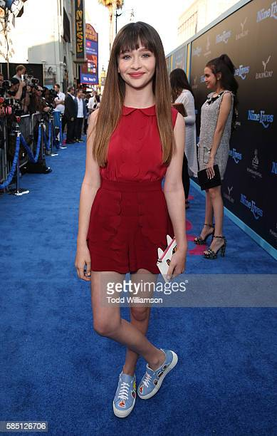 Malina Weissman attends the premiere Of EuropaCorp's Nine Lives at TCL Chinese Theatre on August 1 2016 in Hollywood California
