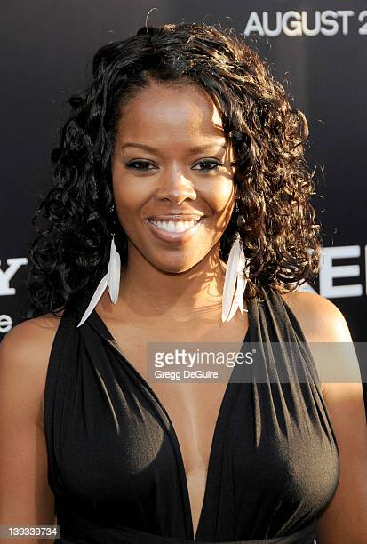Malinda Williams arrives at the World Premiere of Takers at the ArcLight Cinerama Dome on August 4 2010 in Hollywood California
