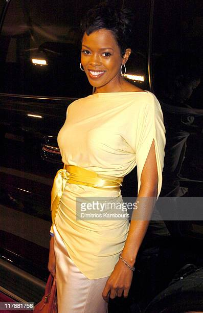Malinda Williams during TEN - GM Rocks Award Season With Cars, Stars and Fashion - Red Carpet at Sunset and Vine in Hollywood, California, United...