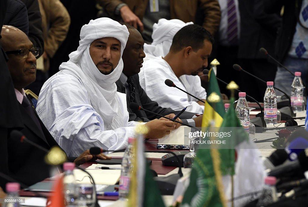 ALGERIA-MALI-PEACE-TUAREG-CONFLICT : News Photo