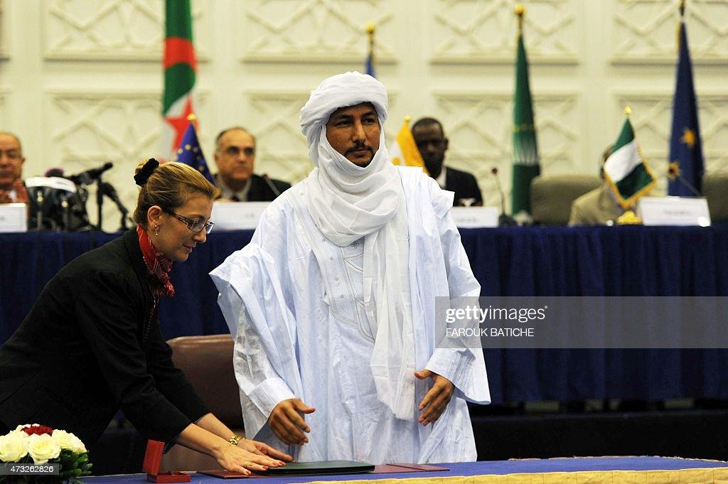 ALGERIA-MALI-PEACE-TUAREG : News Photo