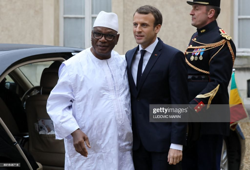 FRANCE-AFRICA-MILITARY-CONFLICT : News Photo