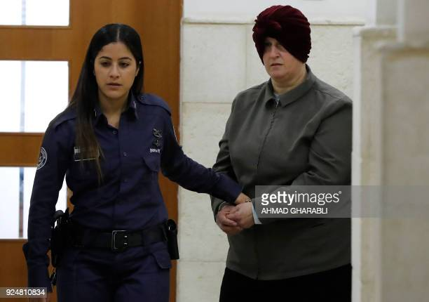 Malka Leifer a former Australian teacher accused of dozens of cases of sexual abuse of girls at a school arrives for a hearing at the District Court...