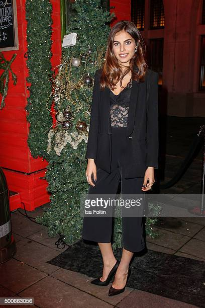 Malka Shlomit attends the INTIMISSIMI Christmas Reception on December 09 2015 in Munich Germany