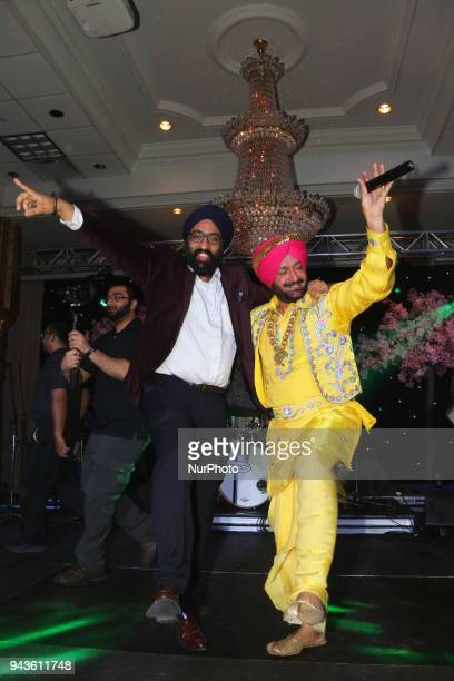 Malkit Singh performed during the William Osler Health Foundation's Holi Gala Event held on April 7 2018 in Mississauga Ontario Canada The Holi Gala...