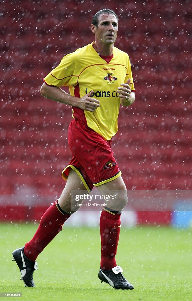 Malky MacKay of Watford in action during the pre-season match between Watford and Chievo Verona at Vicarage Road on August 13, 2006 in Watford, England.