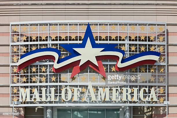 mall of america main entrance sign - mall of america stock pictures, royalty-free photos & images