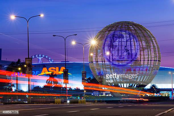 sm mall of asia in passay city metro manila - sm stock photos and pictures