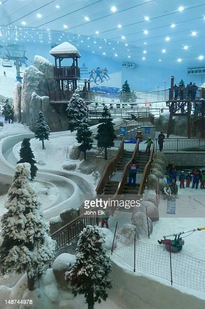 Mall of the Emirates, Ski Dubai, indoor snow sports facility.