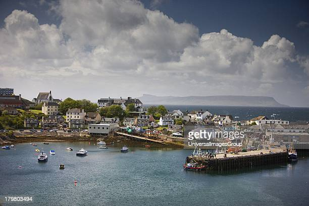 Mallaig Harbour Lochaber Highlands of Scotland United Kingdom