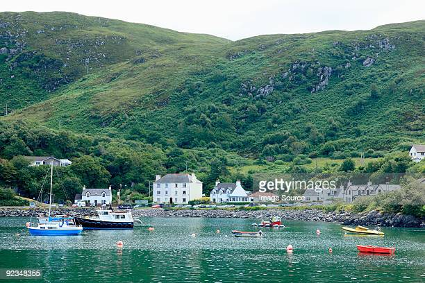 mallaig harbour - mallaig stock photos and pictures