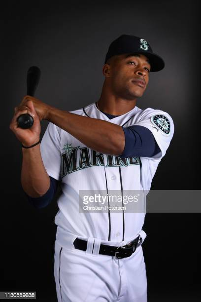 Mallex Smith of the Seattle Mariners poses for a portrait during photo day at Peoria Stadium on February 18 2019 in Peoria Arizona
