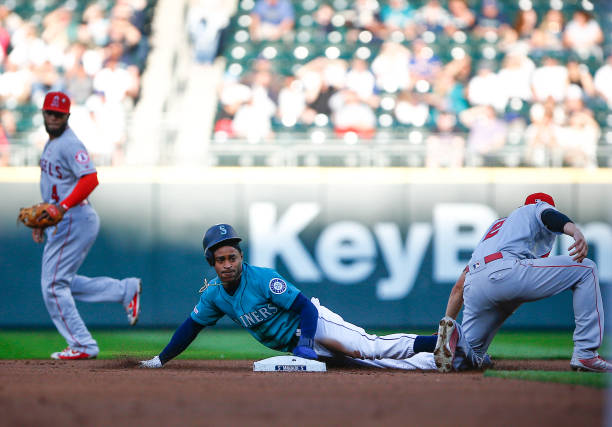 WA: Los Angeles Angels of Anaheim v Seattle Mariners
