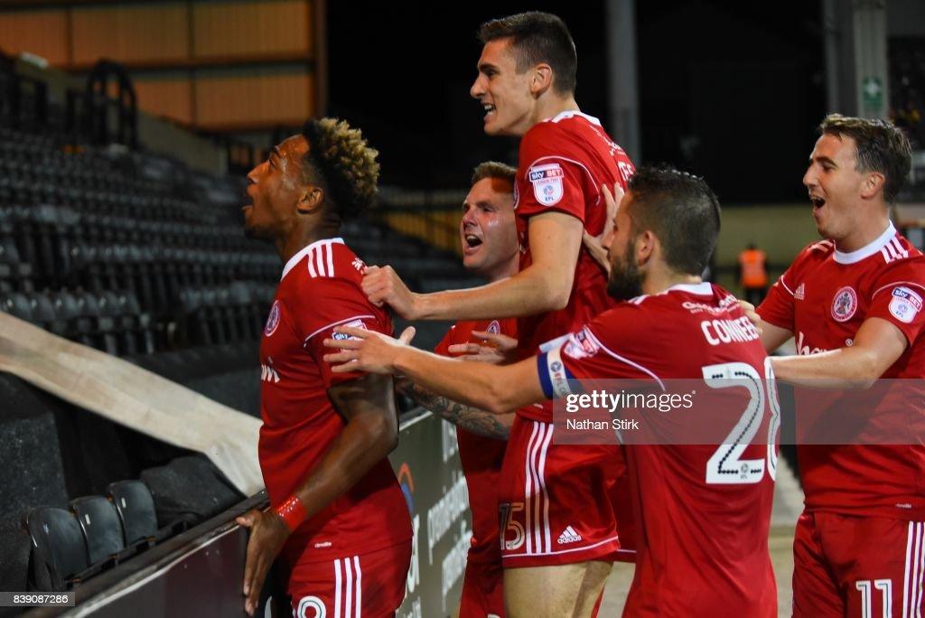 Notts County v Accrington Stanley - Sky Bet League Two : News Photo