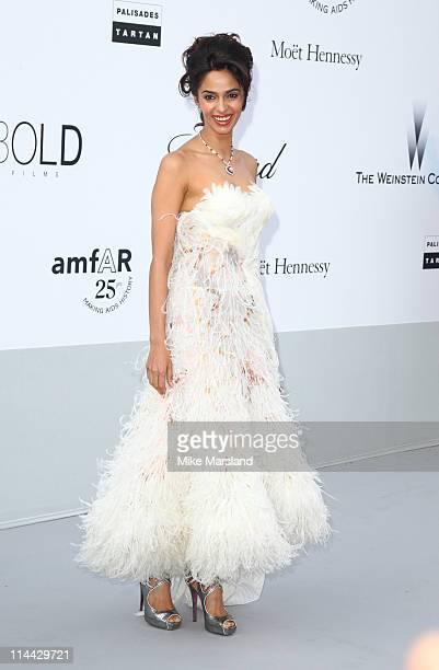 Mallika Sherawat arrives at amfAR's Cinema Against AIDS Gala 2011 at Hotel Du Cap on May 19 2011 in Antibes France