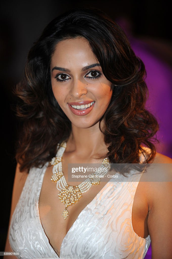 Mallika Sherawat at the Opening Dinner during the 63rd Cannes International Film Festival.