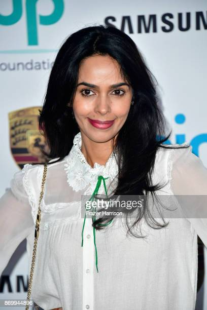 Mallika Sherawat attends Goldie's Love In For Kids at Ron Burkle's Green Acres Estate on November 3 2017 in Beverly Hills California