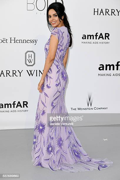 Mallika Sherawat attends the amfAR's 23rd Cinema Against AIDS Gala at Hotel du CapEdenRoc on May 19 2016 in Cap d'Antibes France