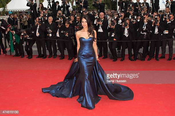 Mallika Sherawat attends the 'Macbeth' Premiere during the 68th annual Cannes Film Festival on May 23 2015 in Cannes France