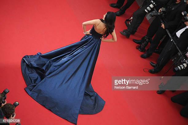 Mallika Sherawat attends the Premiere of 'Macbeth' during the 68th annual Cannes Film Festival on May 23 2015 in Cannes France