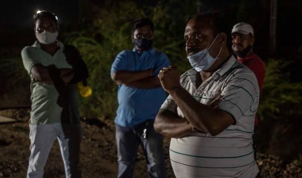 IND: Oxygen Express Arrives In Pune