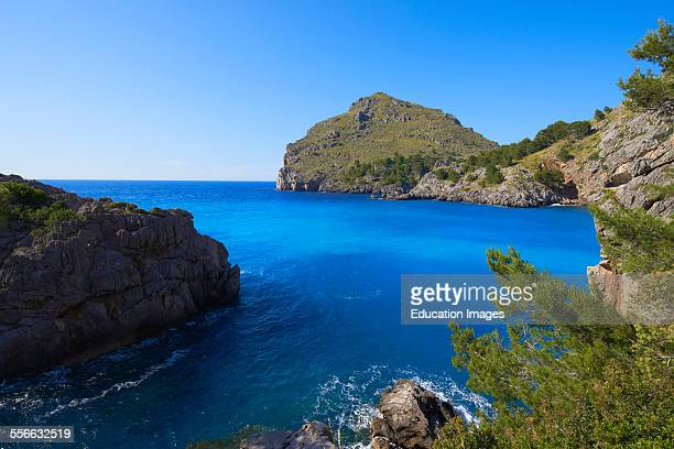 Mallorca Sa Calobra Escorca La Calobra Cala Torrent de Pareis Serra de Tramuntana UNESCO World Heritage Site Mallorca Island Majorca Balearic Islands...