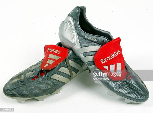 Mallorca v Real Madrid 2003David took the field in these boots to make his long awaited competitive debut for Real Madrid against Mallorca in the...