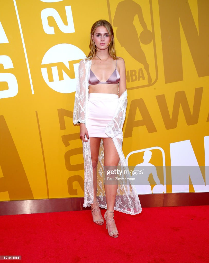 Mallory Edens attends the 2017 NBA Awards at Basketball City - Pier 36 - South Street on June 26, 2017 in New York City.