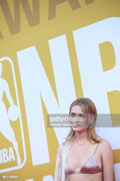 Mallory Edens attends the 2017 NBA Awards at Basketball City Pier 36 South Street on June 26 2017 in New York City