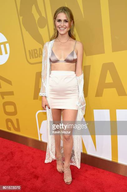 Mallory Edens attends the 2017 NBA Awards Live on TNT on June 26 2017 in New York New York 27111_002