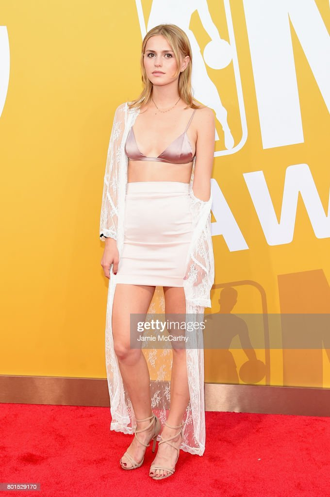 Mallory Edens attends the 2017 NBA Awards live on TNT on June 26, 2017 in New York, New York. 27111_003