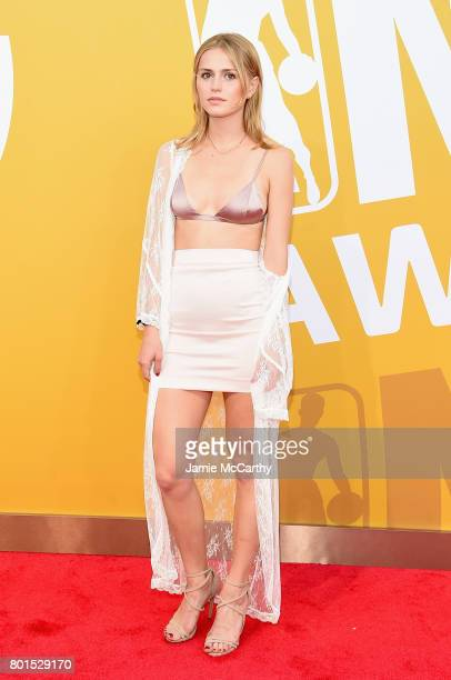 Mallory Edens attends the 2017 NBA Awards live on TNT on June 26 2017 in New York New York 27111_003
