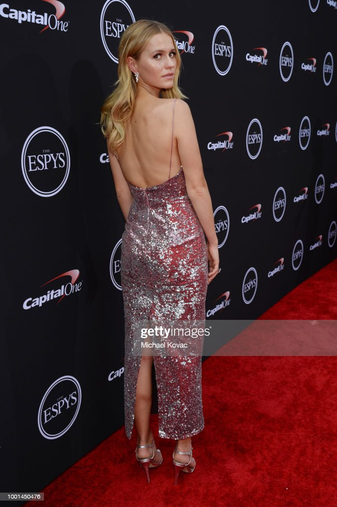 Mallory Edens attends the 2018 ESPY Awards Red Carpet Show Live! Celebrates With Moet & Chandon at Microsoft Theater on July 18, 2018 in Los Angeles, California.