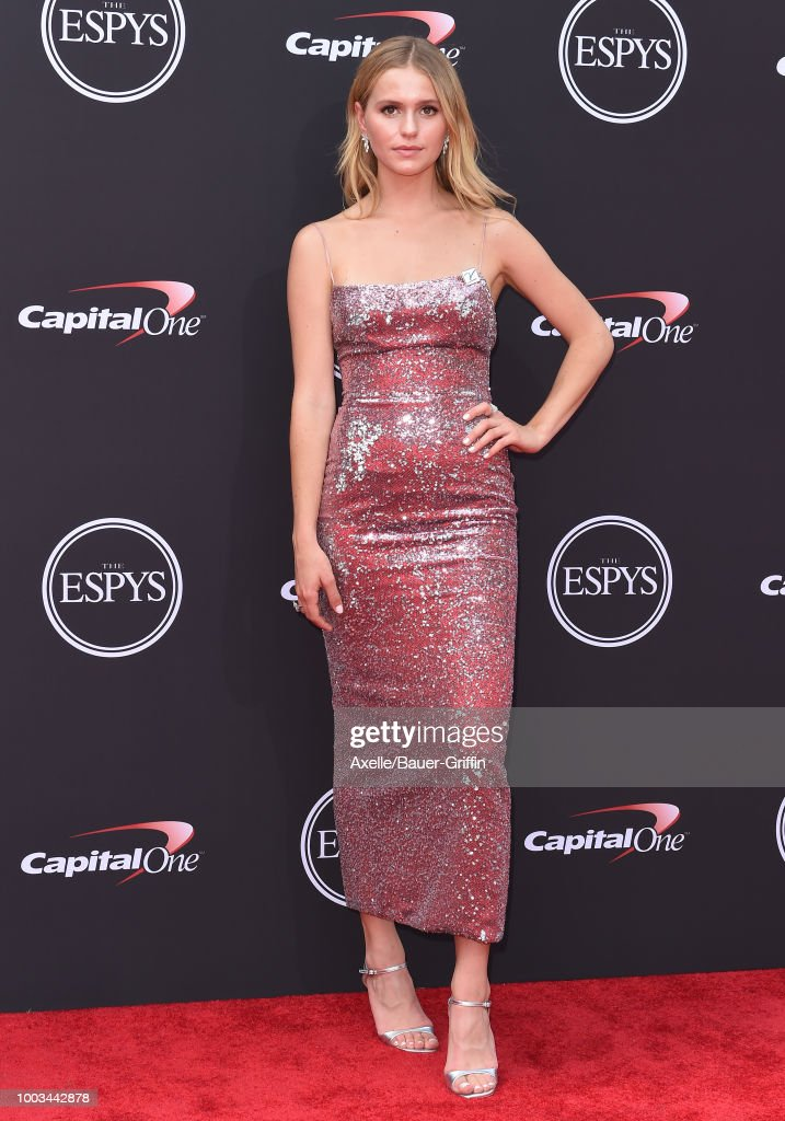 Mallory Edens attends The 2018 ESPYS at Microsoft Theater on July 18, 2018 in Los Angeles, California.