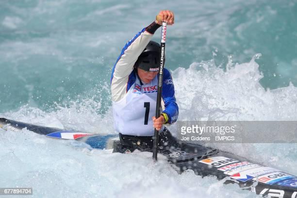 Mallory Franklin Shepperton Slalom Canoe Club