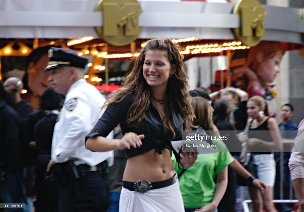 Mallory from 'Real World 13: Paris' during 2003 MTV Video Music Awards - Arrivals at Radio City Music Hall in New York City, New York, United States.