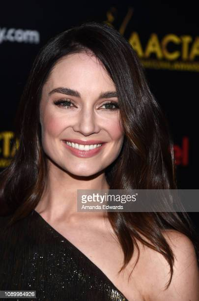 Mallory Jansen arrives at the 8th AACTA International Awards at Mondrian Los Angeles on January 04 2019 in West Hollywood California