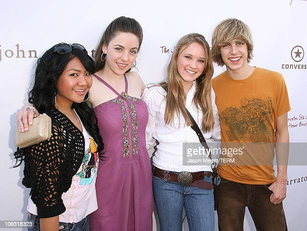 Mallory Low Brittany Curran Emily Osment and Cody Linley