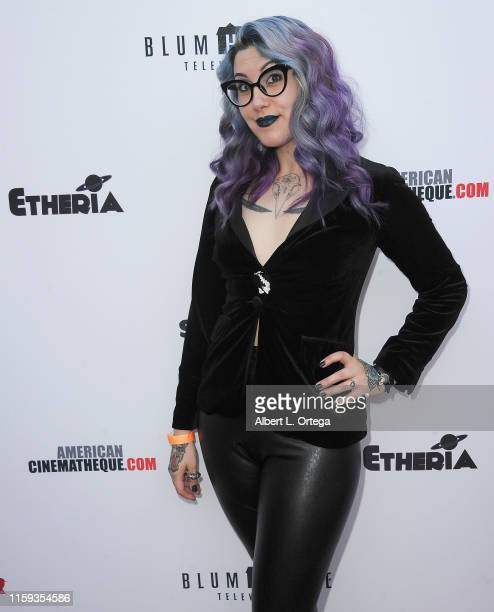 Mallory O'Meara attends the 6th Annual Etheria Film Showcase held at American Cinematheque's Egyptian Theatre on June 29 2019 in Hollywood California