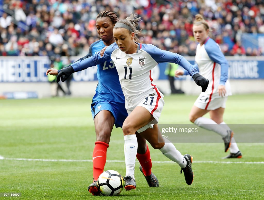 2018 SheBelieves Cup - United States v France : News Photo