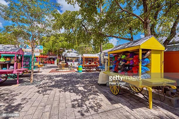 Mallory Square souvenir kiosks, Key West