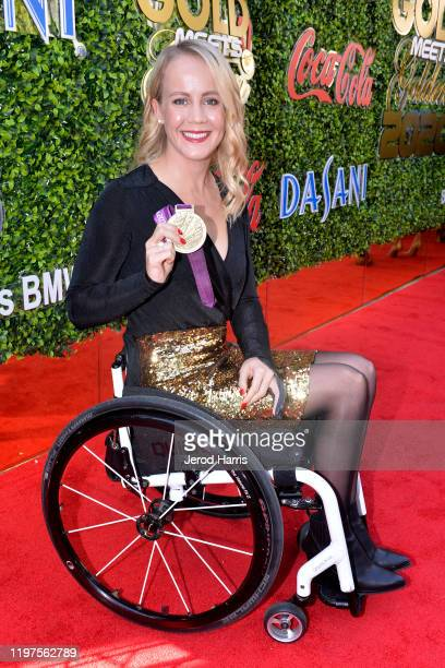 Mallory Weggemann arrives at the 7th Annual Gold Meets Golden at Virginia Robinson Gardens and Estate on January 04 2020 in Los Angeles California