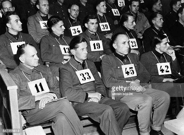 MalmedyProzessvlnr Sepp Dietrich Fritz KrämerHermann Priess und Joachim Peiper1946