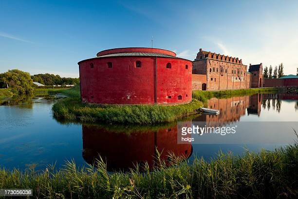 malmo castle, sweden - malmo stock pictures, royalty-free photos & images