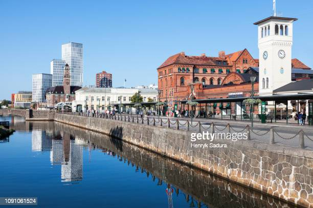 malmo central station - malmo stock pictures, royalty-free photos & images