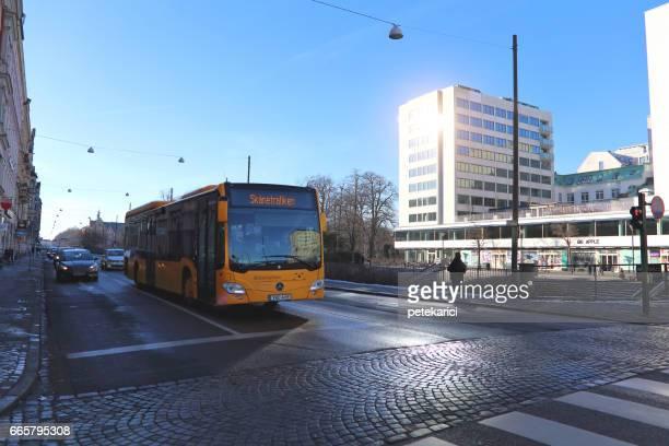 Malmo city urban landscape, Sweden