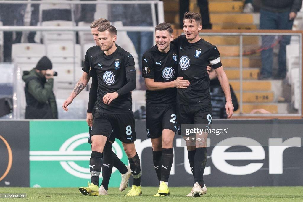 UEFA Europa League'Besiktas AS v Malmo FF' : News Photo