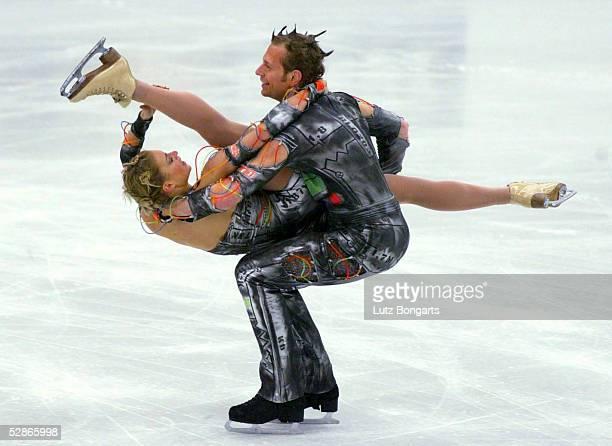 EM 2003 Malmoe EISTANZ/KUER 5 Platz fuer Kati WINKLER und Rene LOHSE/GER